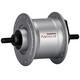 Shimano Nexus DH-C3000-3N Piasta 3 Watt do Hamulców szczękowych/Zacisków do osi srebrny